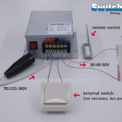 wiring power supply SY low res